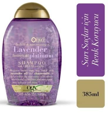 Organix Şampuan Lavender Platınıum 385Ml Renksiz